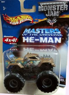 Hot Wheels Monster Jam Metal Collection Mattel 2002 MASTERS OF THE UNIVERSE…
