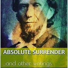"""Get Dustin's newly updated edition of """"Absolute Surrender"""" by Andrew Murray. This is another #revival #classic by that hero of the #faith A. Murray! http://amzn.to/2iFBAvx"""