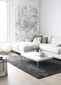 White Sofa Design Ideas & Pictures For Living Room