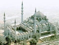 Suleymaniye aerial view
