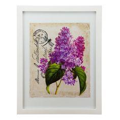 Quadro Elegance Floral Lavanda- col exclusiva