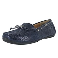 Clarks Women's Dunbar Groove,Navy Suede,US 7.5 W * Click image to review more details.