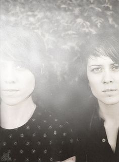 tegan and sara  Not my usual cup of tea musically, but some things are to good to ignore.