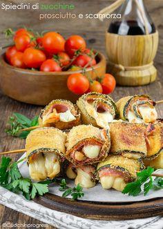 Italian Recipes, New Recipes, Cooking Recipes, Healthy Recipes, Antipasto, Food Design, Mozzarella, Tapas, Baby Finger Foods