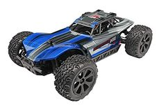 Hobby RC Trucks - Redcat Racing Blackout XBE Electric Buggy with Waterproof Electronics Vehicle 110 Scale Blue ** Learn more by visiting the image link.