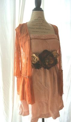 Gypsy cowgirl party dress boho french country by TrueRebelClothing, $68.00