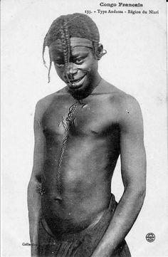 Young Bangala boy.
