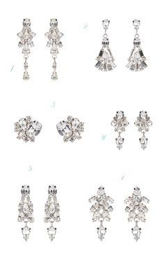 Jenny Packham Accessories 2014 ✈ Bridal Earrings