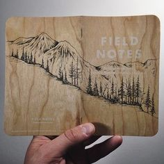 Field notes.                                                                                                                                                                                 More