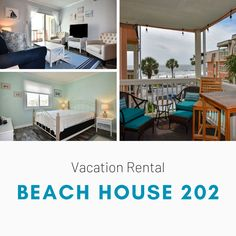Beach House 202 is a two-bedroom, two-bath side ocean-view condo located 0.4 miles north of Garden City Pier. Two TVs and Wi-Fi are also provided. Sleeping accommodations include two queen-sized beds plus a queen-sized sofa bed. Common area includes a swimming pool, sun deck, beautifully landscaped grounds and on-site coin operated laundry. Limit one parking pass per unit. No elevators. No smoking. No pets. Check-out maid service included. Linens included. Maximum: 6 Coin Operated Laundry, Common Area, Two Bedroom, Vacation Rentals, Sofa Bed, Tvs, View Photos, Wi Fi, Beach House