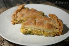 kolokythopita almyri Cookie Dough Pie, Kai, Spanakopita, Greek Recipes, Hot Dog Buns, Finger Foods, Food And Drink, Bread, Baking