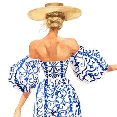 Fashion art by inslee haynes fariss Fashion Illustration Dresses, Fashion Illustrations, Design Illustrations, Arte Fashion, Ideias Fashion, Dress Fashion, Art And Illustration, Art Sketches, Art Drawings
