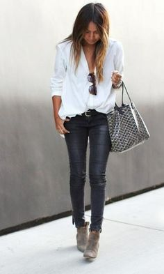 Look Camisa + Jeans