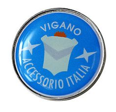 ★Vigano Accessorio Italia - Quality 28mm Pin Badge