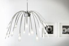 A iluminação LED criou novas oportunidade de design, já que as lâmpadas podem ser incorporadas nos candeeiros, permitindo formas únicas que não seriam possíveis com as lâmpadas incandescentes tradicionais.