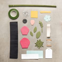 Build a Bouquet Paper Flower Kit by PaperStampandInk on Etsy