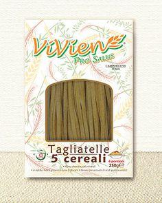 #Tagliatelle 5 cereali di Vivien Pro Salus. Sono un mix di benessere; è una specialità alimenentare  prodotte con #farro, #grano saragolla, #segale #orzo e #avena