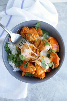 buffalo chicken bowl