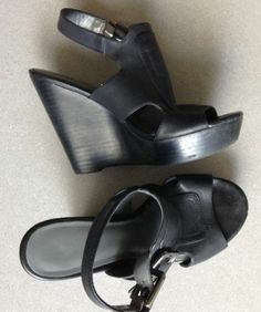 Spring Wedges, Platforms and Strappy Heels by closetcathartic @eBay