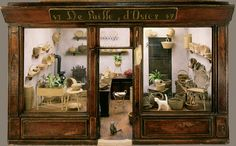 Wicker's shop from the collection of Madame Ingeborg Riesser, Paris, France.