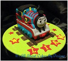Fantastic Thomas the Tank Engine cake