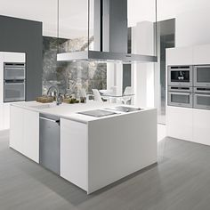 Beautiful Scholtes stainless steel kitchen