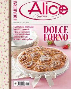 Alice cucina quaderni dolce forno