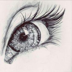 realistc eye drawing