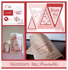 Homemaking Fun: Free Valentine's Day Printables