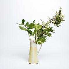 Tall Dairy Jug – Irish Design Shop Irish Design, Design Shop, Earthenware, A Table, Cool Designs, Table Settings, Dairy, Organic, Vase