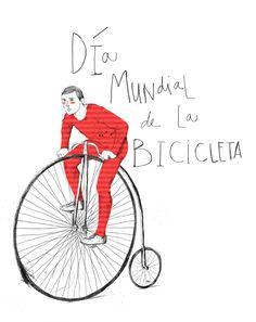 TNT Ilustración /// TNT Illustration  #tnt #tntilustracion #tntillustration #illustration #ilustracion #dibujo #draw #creative #inspiration #bicicleta