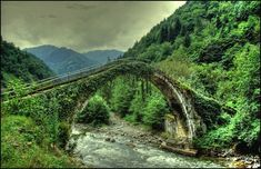 senyuva-koprusucamlihemsin_Old Mysterious Bridges