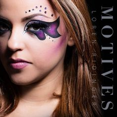 Full Face shot for the previous look by the talented @elymarino Will you recreate this tomorrow? Products used: Angel eye khol Little Black Dress Gel Liner Plum Fairy Glitter Diamond Glitter Blizzard Shadow Heiress Shadow Aphrodite Shadow Fantasy Shadow Ecstasy Shadow Onyx Shadow Passion Lip Liner Bella Blush ____________________________________________ All #motives products are available for US/CAN at http://ift.tt/19oQHy4 or internationally at Global.Shop.com #motd #motivescosmetics…