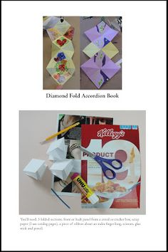 susangaylord.com: Diamond Fold Books Workshop and Tutorial