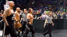 SmackDown 5/5/16: The Usos & Roman Reigns vs. Luke Gallows, Karl Anderson & AJ Styles