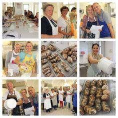"""Ordentlich Gas gegeben haben wir beim """"Brot- und Gebäckkurs"""" ... mehr dazu im Gästebuch unter www.ninabackts.at/gaestebuch"""