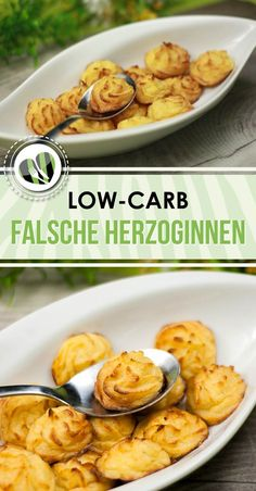 Die falschen Herzoginnen sind eine leckere Alternative zu der Kartoffel-Beilage. Das Rezept ist low-carb und glutenfrei.