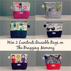 win these cute reusable bags!