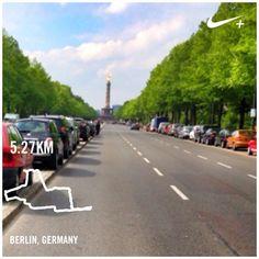 #latepost #nikeplus #myrun #berlin #april2014 #nikeplus #morningrun #running #laripagi #marilari #selamatpagi #instarunner #runtagit