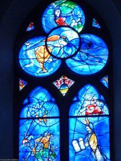 Marc Chagall Stained Glass Windows | bijoubaby says: Marc Chagall, Stained Glass Windows, St.Stephan zu ..