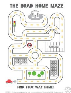 1,000+ Free Printable Mazes That Kids of All Ages Will Love: Mr. Printables' Mazes for Kids