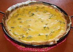 Quiche vegana de brócoli con crema de zanahorias y puerros en HazteVegetariano.com