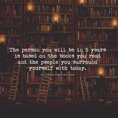 Immagine di books, people, and quote
