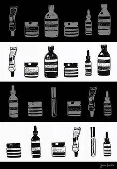 Jason-Brooks-Folio_Art-Illustration-Fashion-Beatuy-Man-Aesop-L.jpg (623×900)