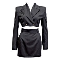 1stdibs.com | 1990s John Richmond Cropped Skirt Suit