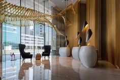 Book your stay at the Renaissance Downtown Hotel, Dubai, and enjoy spacious rooms, excellent dining, a luxury on-site spa and flexible event venues. Hotel Lobby Design, Luxury Hotel Design, Hotels Near Disneyland, Downtown Hotels, Disney Hotels, Florida Hotels, Destin Florida, Tokyo Disneyland, Beach Hotels