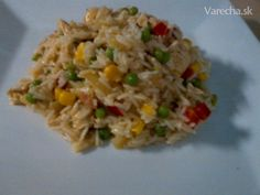 Netradičné rizoto - Recept Fried Rice, Ale, Fries, Ethnic Recipes, Food, Red Peppers, Ale Beer, Essen, Meals