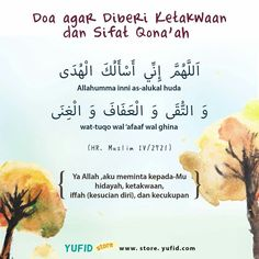 Doa agar diberi ketakwaan dan sifat Qana'ah