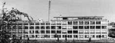 Egon Eiermann /// 1938-39 Fabrikgebäude der Total-Werke, Apolda Foto: Eberhard Troeger, Berlin