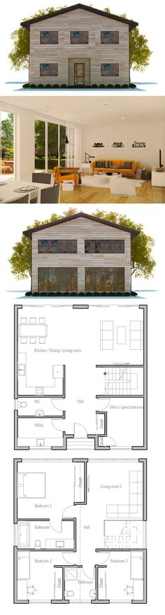 Small and Affordable new home plan